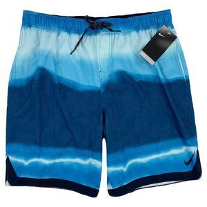 Nike Repel Hydrofuge Blue Swim Trunks Size XL